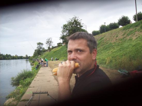 Christophe Laporte élève de JP Bancon, se nourrir avant l'effort